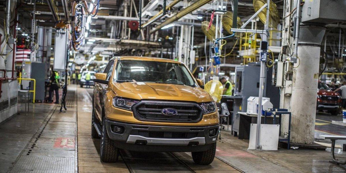 Ford inicia la producción de la nueva Ranger 2019