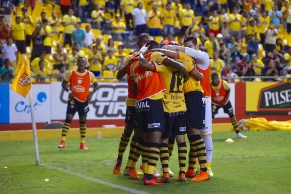 Guayaquil 4/11/2018. Barcelona vs Aucas