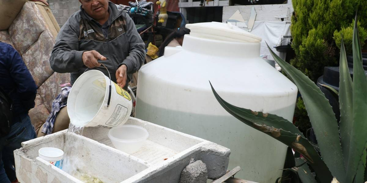 Suministro de agua se normalizará al 100% hasta el domingo