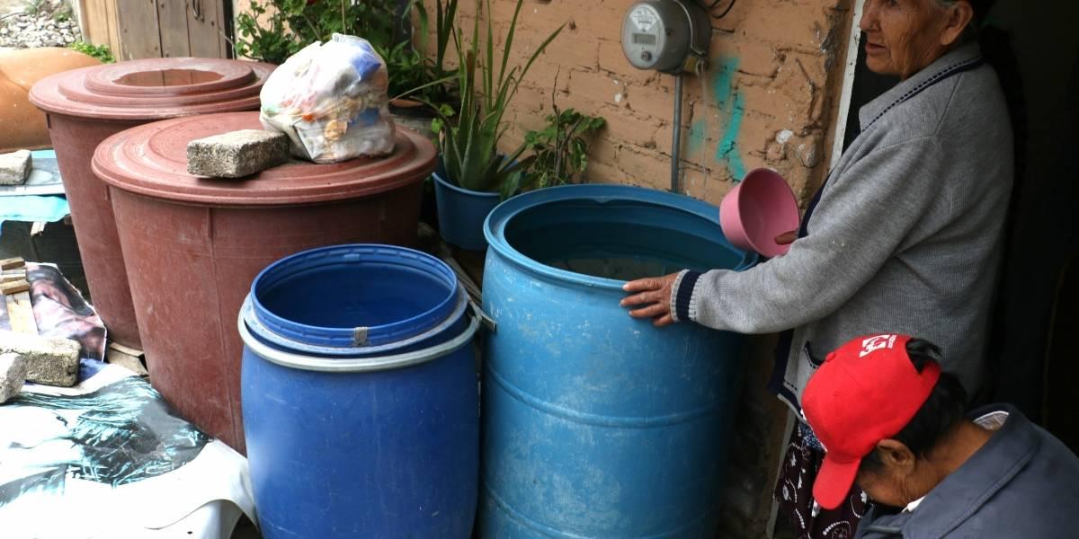 El agua en CDMX, la crisis persistente
