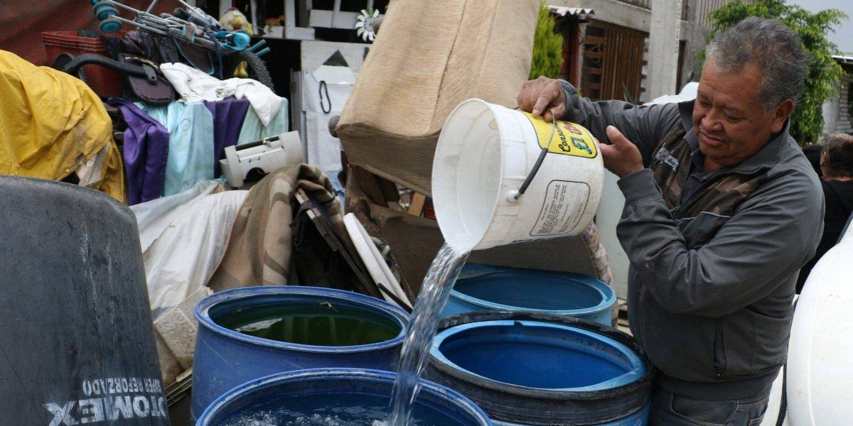Ante prolongación de corte, se reforzará abasto de agua con pipas: Amieva