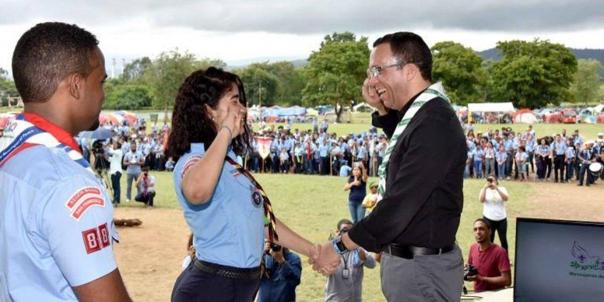 Resultado de imagen para Ministro de Educación Andrés Navarro asegura que el movimiento Scouts creará nuevos líderes en la escuela