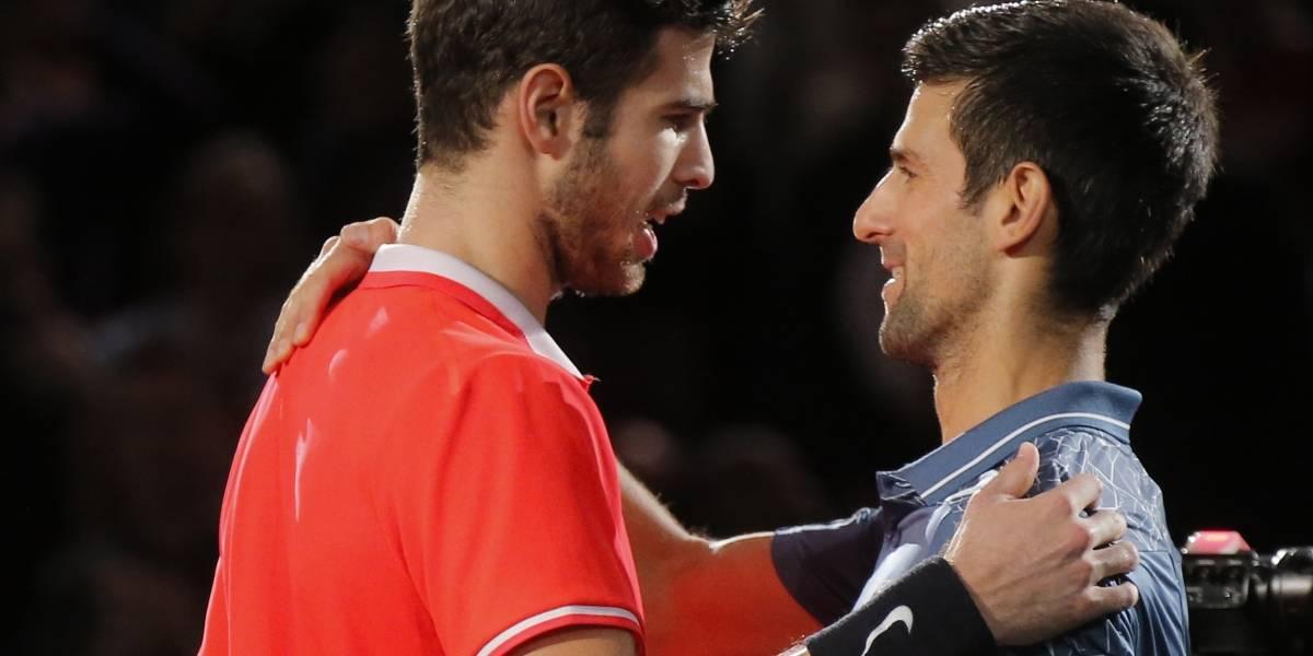 Cae Djokovic en el Masters de París