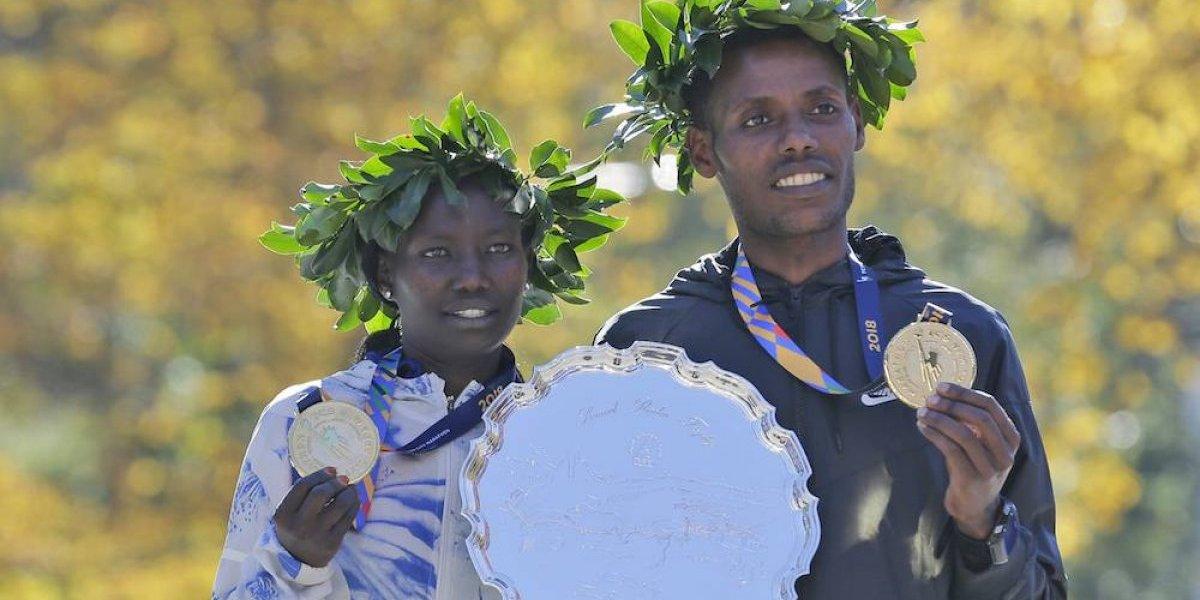 Keitany y Desisa ganan el Maratón de Nueva York