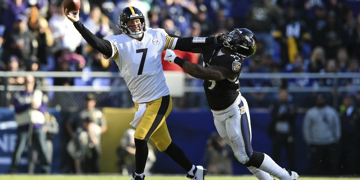 Roethlisberger guía a Steelers a triunfo sobre Ravens