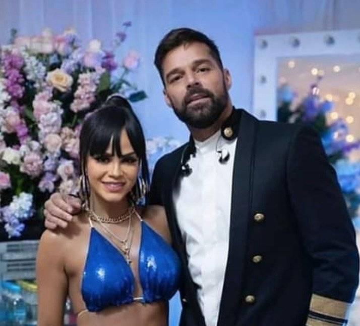Ricky Martin y Natti Natasha en Cuenca