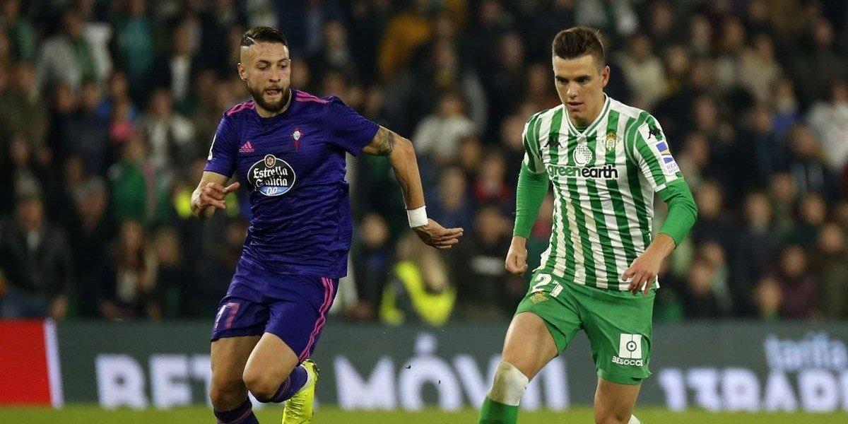 Betis y Celta protagonizan empate de locura en la Liga española