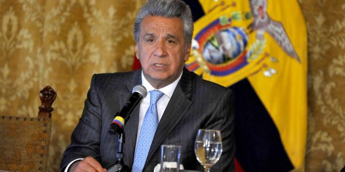Fiscalía investiga encuentro entre el exjefe campaña de Trump y Lenín Moreno