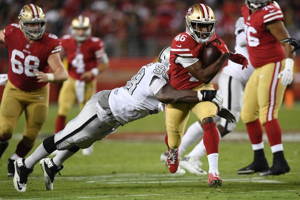 Raiders 3-34 49ers / Getty Images
