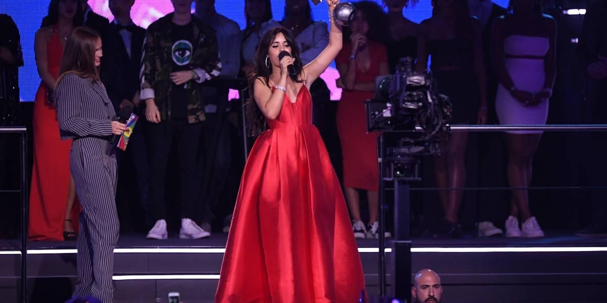 Camila Cabello triunfa en los MTV EMA 2018