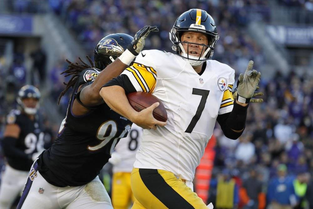 Steelers 23-16 Ravens / Getty Images