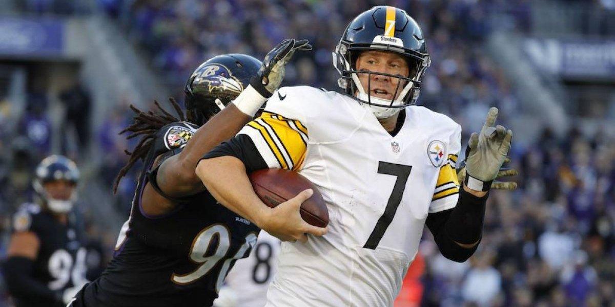Roethlisberger guía nuevo triunfo de Steelers y cobran venganza de Ravens