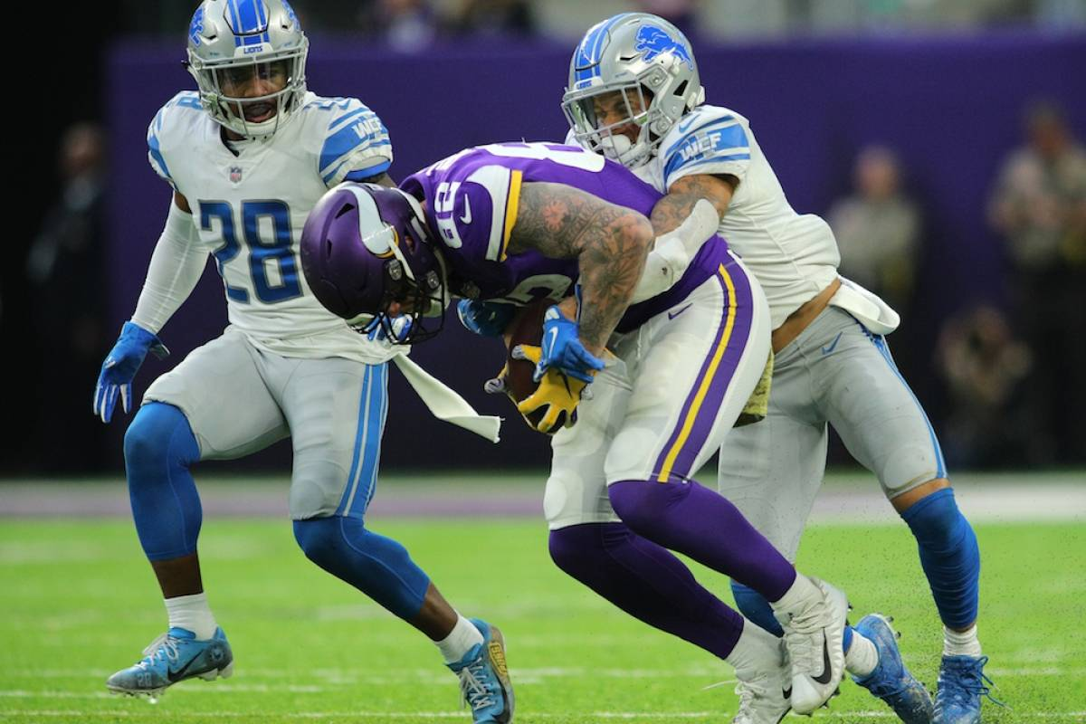 Lions 9-24 Vikings / Getty Images
