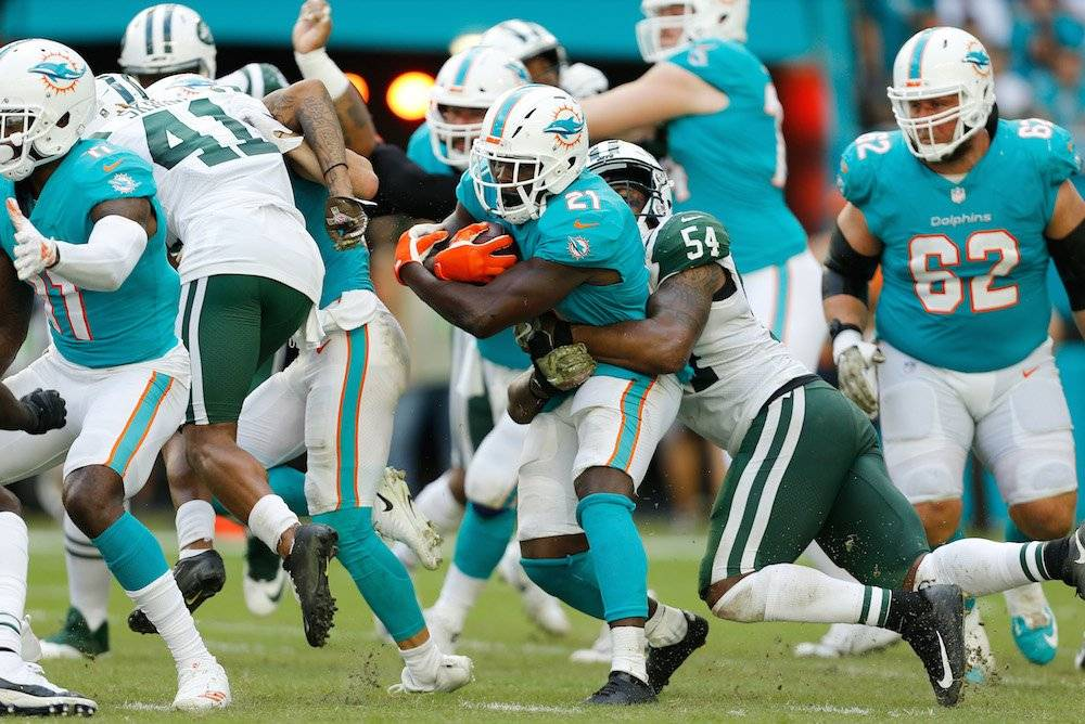 Jets 6-13 Dolphins / Getty Images