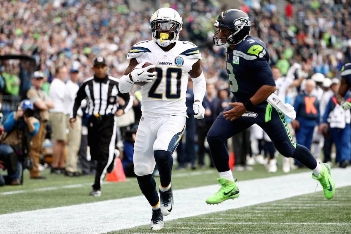 Chargers 25-17 Seahawks / Getty Images
