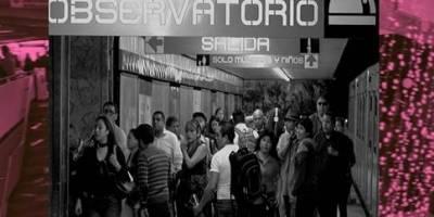 La entrada al metro fue el escenario del ataque.