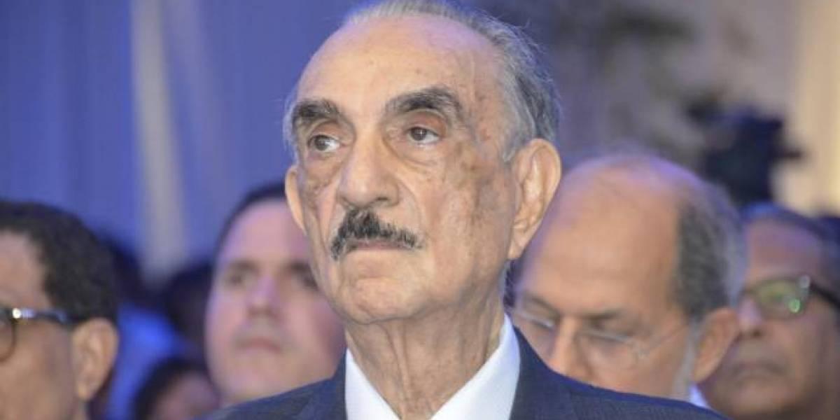Fallece el político y empresario dominicano José Rafael Abinader