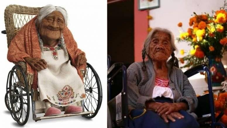 Así luce la señora que inspiró al personaje de la 'abuela coco'