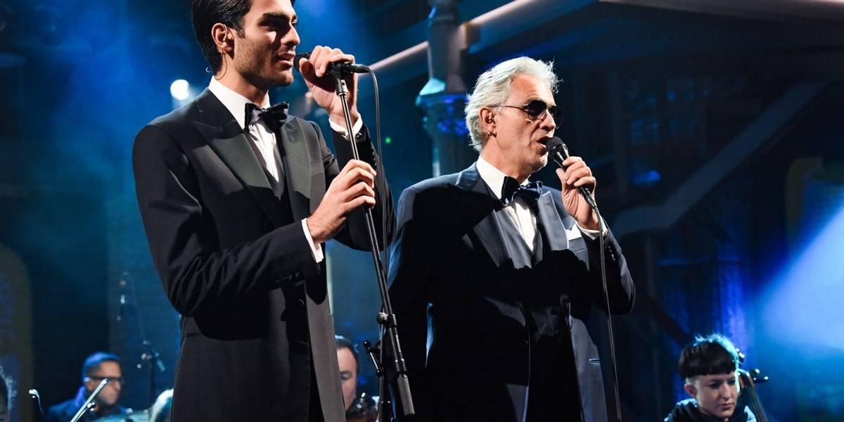 El desconocido y atractivo hijo del cantante Andrea Bocelli