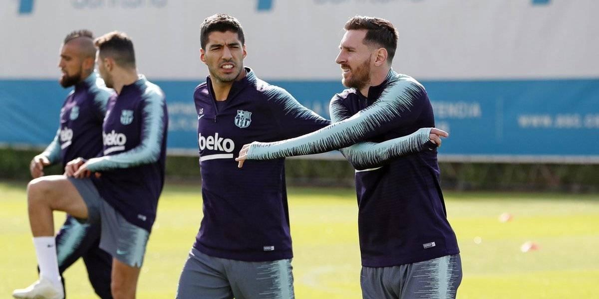 Convocan a Messi para partido de Champions League sin tener el alta médica