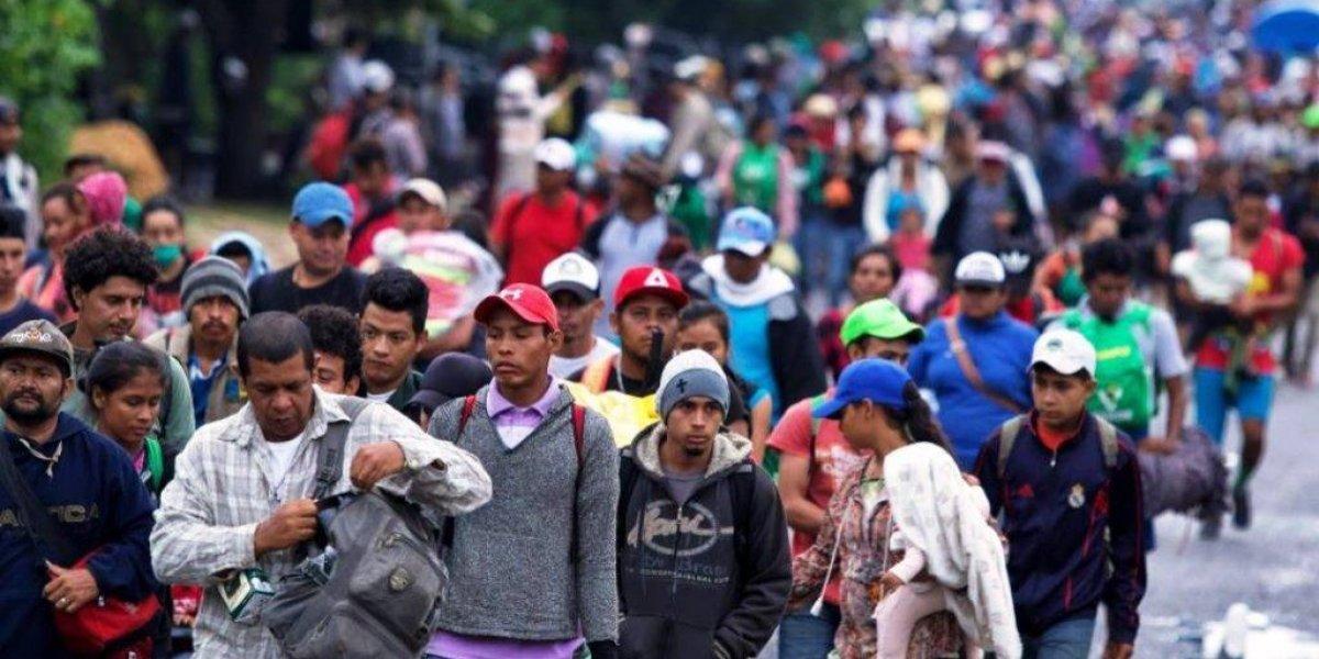 Unos 150 migrantes llegan al estado Puebla; la mayoría sigue en Veracruz
