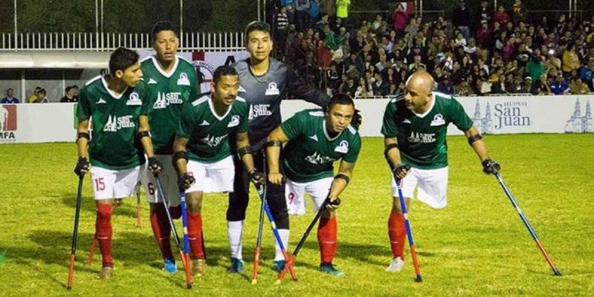 México pierde en el Mundial de Amputados 2018