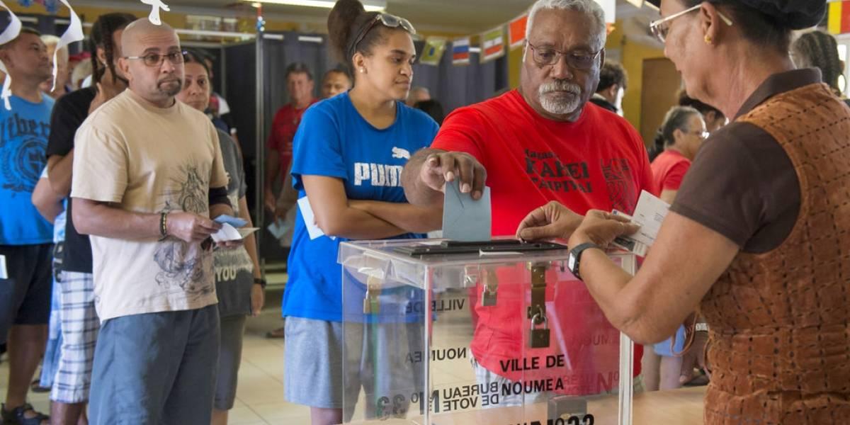 Nueva Caledonia rechaza independizarse de Francia