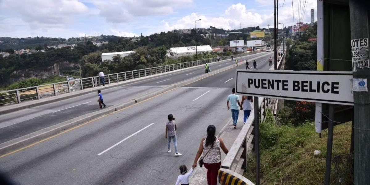 ¡Atención! Puente Belice permanecerá cerrado esta noche
