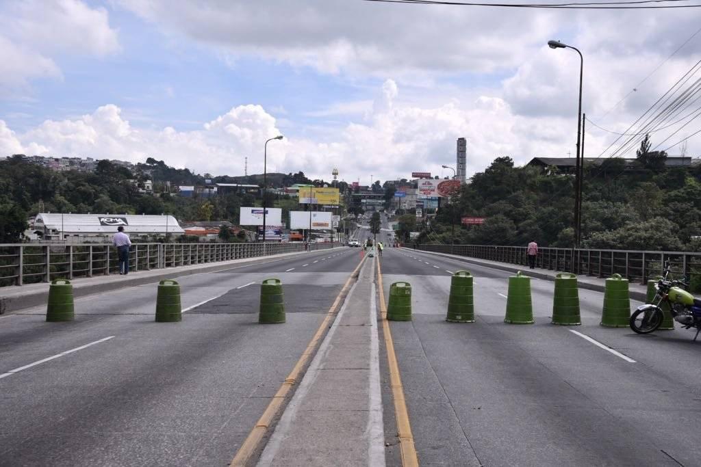 Cierran el puente Belice por trabajos de remozamiento.