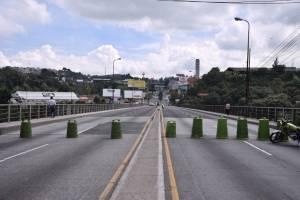 Cierran el puente Belice por trabajos de remozamiento