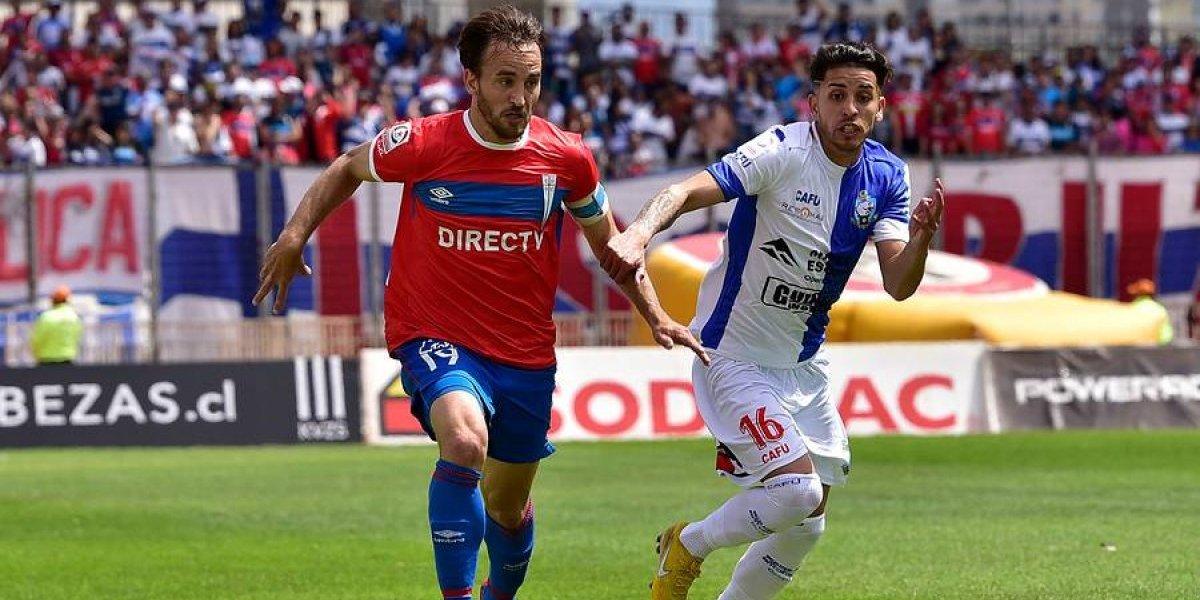 Así vivimos el empate de la UC ante Antofagasta que lo mantiene como líder