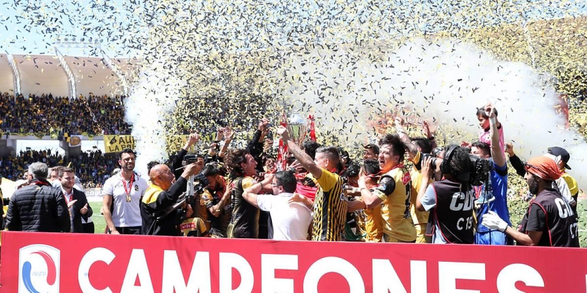 Coquimbo Unido por fin gritó campeón en la B en 2018 y regresó a Primera División tras 11 años