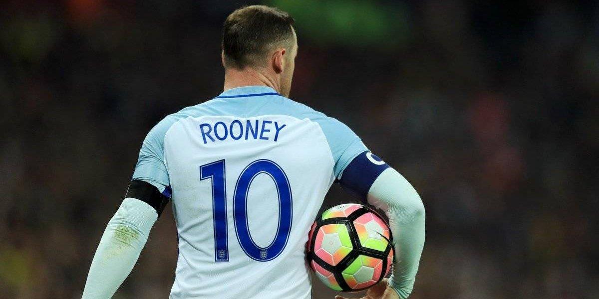 Wayne Rooney tendrá su merecida despedida de la selección de Inglaterra ante Estados Unidos