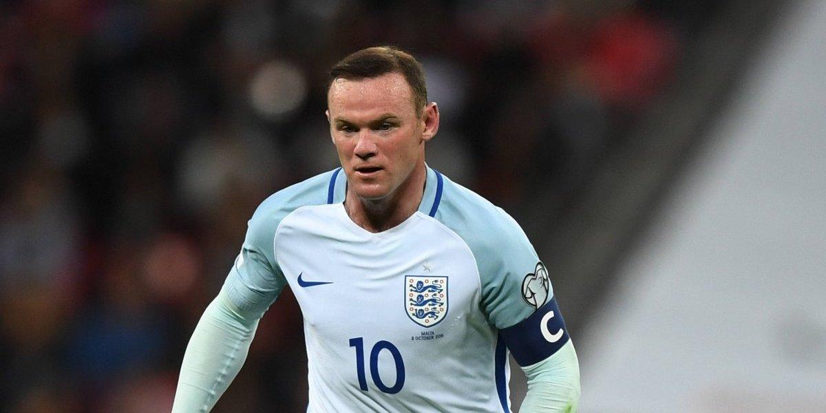Wayne Rooney jugará con la Selección de Inglaterra para recibir homenaje