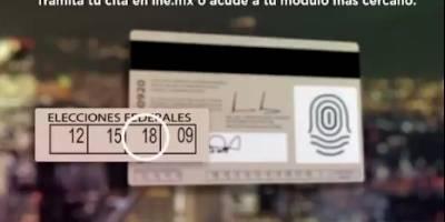 INE recuerda fecha límite para renovar credencial