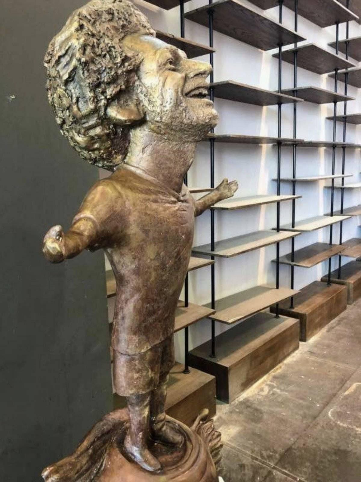 Estatua de Mohamed Salah Twitter