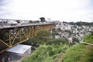 Trabajos en el puente Belice, Municipalidad de Guatemala
