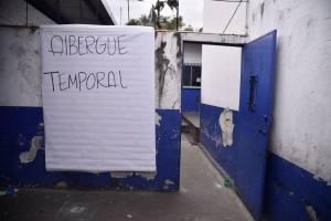 Albergue temporal por trabajos en puente Belice