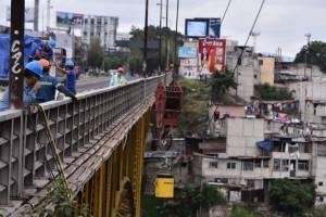 Realizan trabajos en el puente Belice
