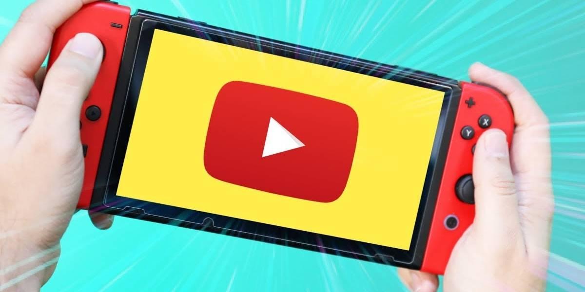 La app de YouTube para Nintendo Switch estaría cerca