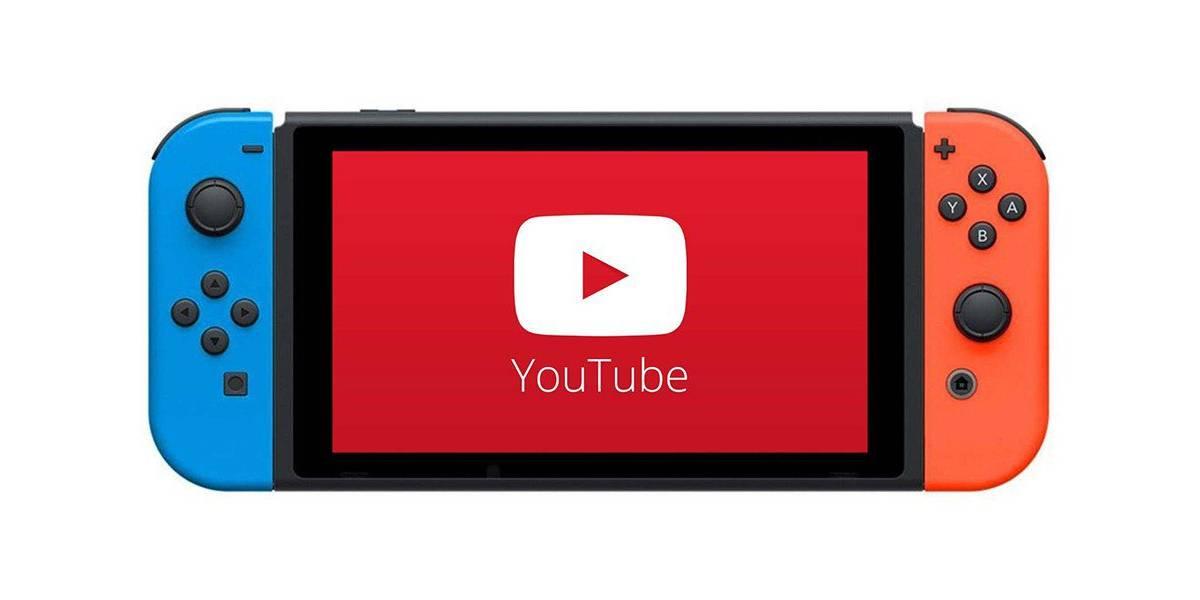YouTube podría llegar a la Nintendo Switch: reporte