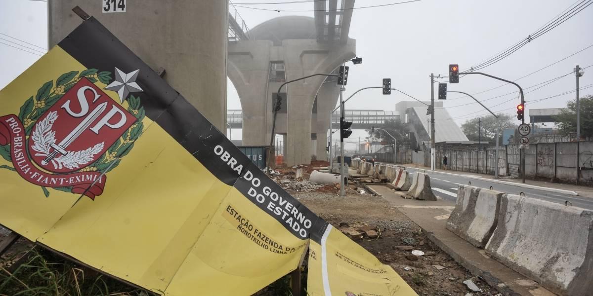 Metrô vai licitar de novo obras de estações da linha 15-Prata