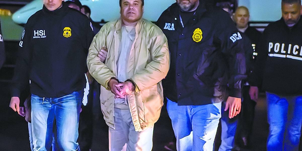 Líder do maior cartel do mundo, El Chapo vai a júri nos EUA