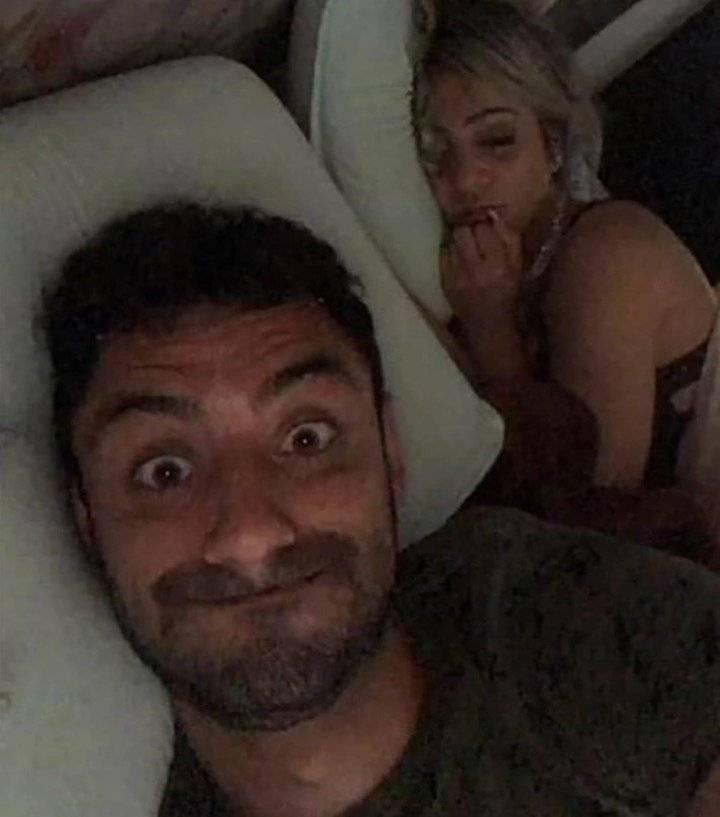 La imagen que envió el jugador Daniel Correa Freitas por WhatsApp