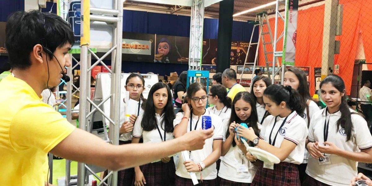 Robótica y el futuro de la educación se mezclan en Make X 2018