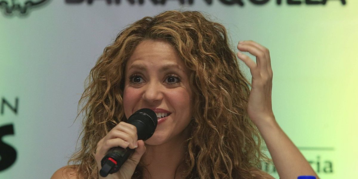 Shakira gritó y cantó el primer gol de su hijo Sasha