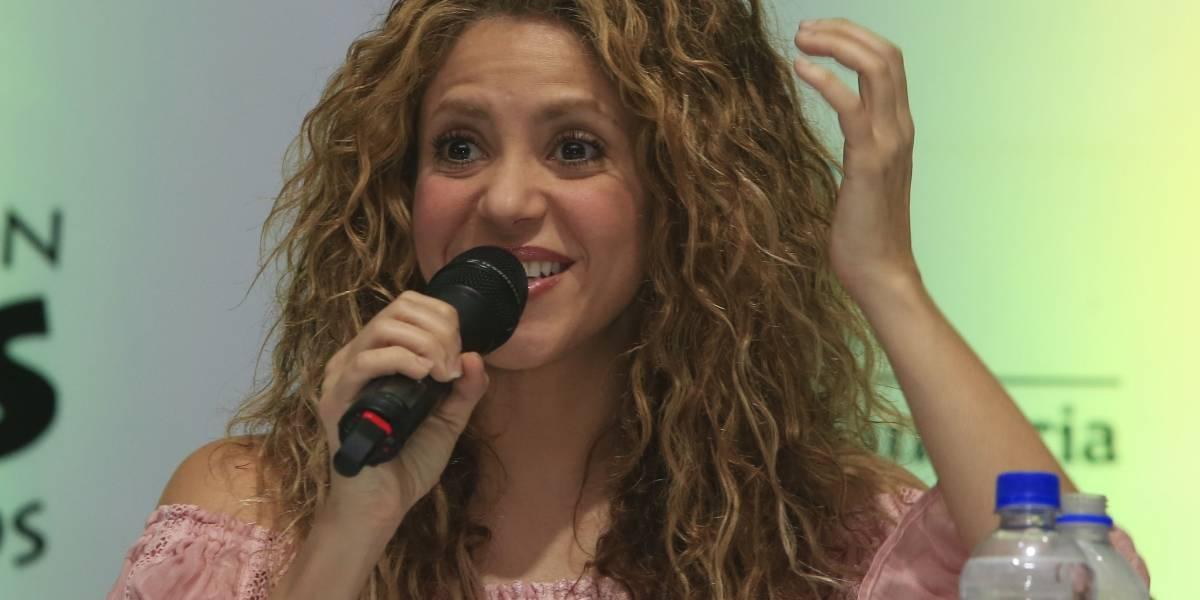 Shakira pide al Gobierno colombiano más presupuesto para ayudar a niños venezolanos