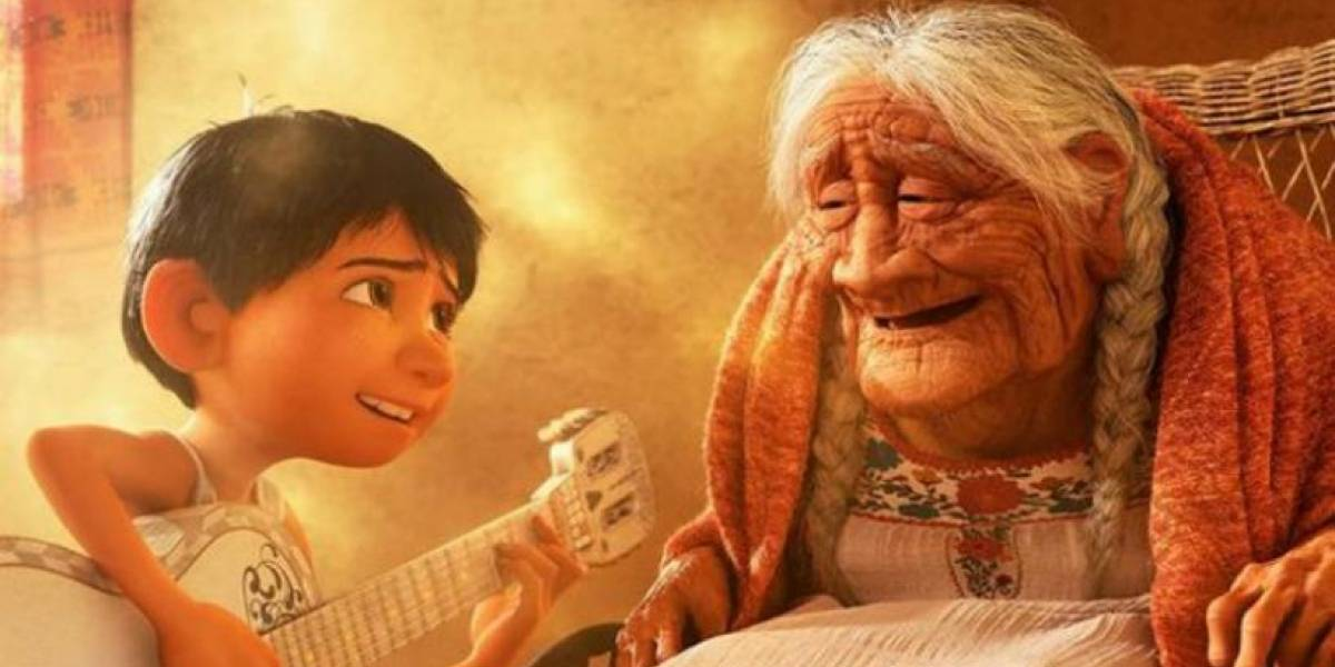 """Así luce la señora que inspiró al personaje de la """"abuela Coco"""""""