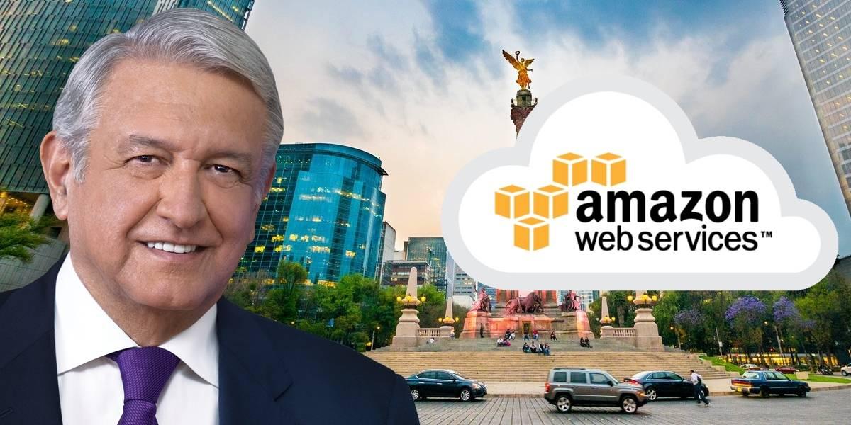 Amazon quiere ser proveedor de AMLO