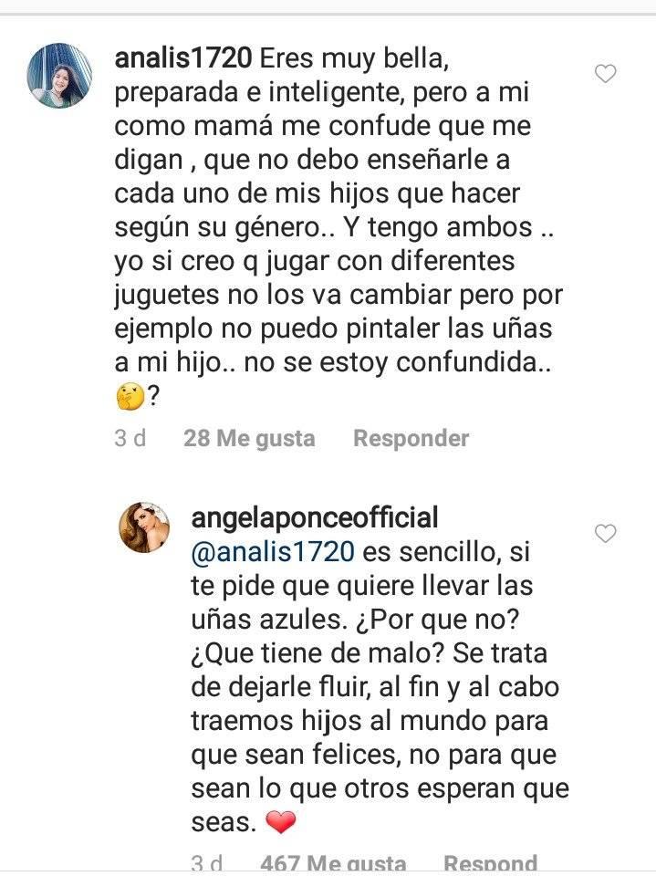 La respuesta de Miss España a una mamá